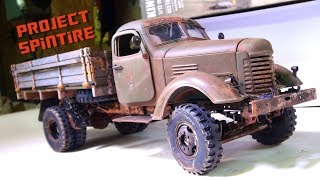 "RC ADVENTURES - Project: ""SPiNTiRE"" - FiNAL PRODUCT: RUST & AGiNG ""How To"" PT2 - 2WD CA10 WORK TRUCK"