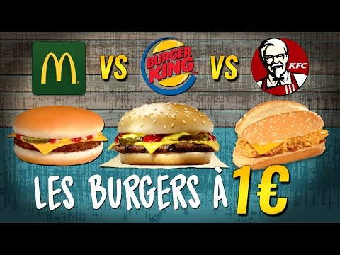 LE PLUS RENTABLE ? MCDONALD'S vs BURGER KING vs KFC