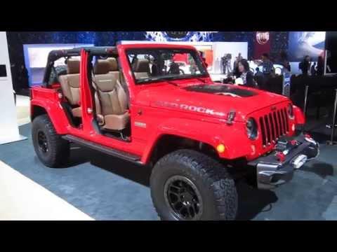2016 JEEP WRANGLER UNLIMITED RED ROCK at LA Auto Show 2015