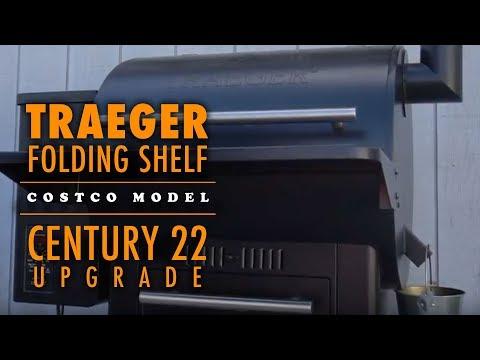 Traeger Folding Shelf Install | Series 22 Models | Century 22 - Costco  Traeger Model