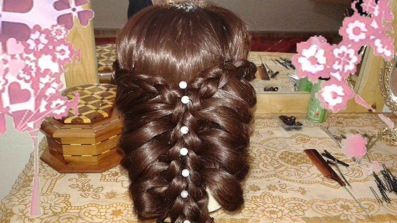 Como hacer peinados faciles y bonitos para ninas con pelo - Peinados nina pelo largo ...