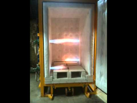Four, oven, kiln Solargil Gaz JET. 1320°C sole mobile et option réduction