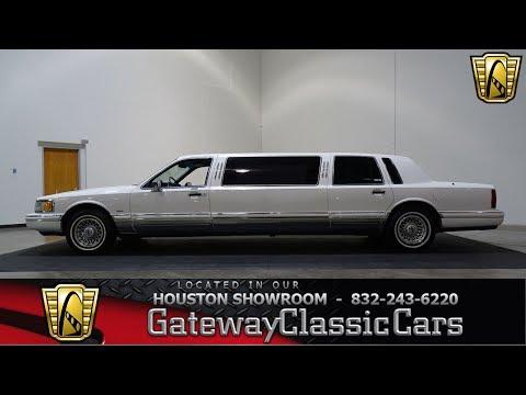 1994 Lincoln Towncar Executive Limo Gateway Classic Cars #807 Houston Showroom