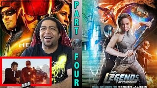 LEGENDS OF TOMORROW | SEASON 2 EPISODE 7 | CW CROSSOVER (PART 4) - REACTION & REVIEW (THANK U CW!!)