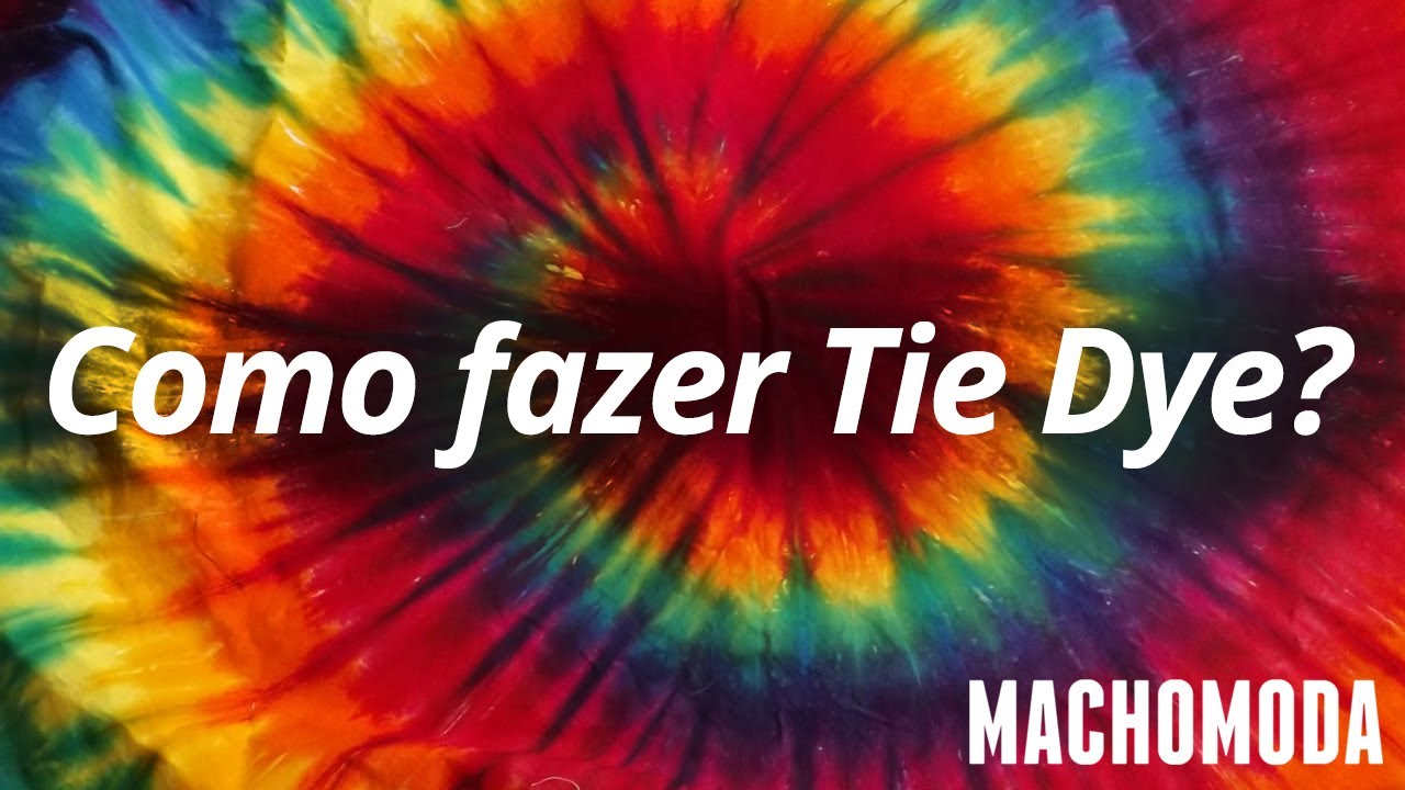 b1824c7bd6 MM TV  12 - Como fazer Tie Dye (Camiseta Tie Dye) - YouTube