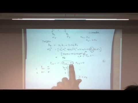 Intro to portfolio management and exchange traded derivative (14-10-2015)
