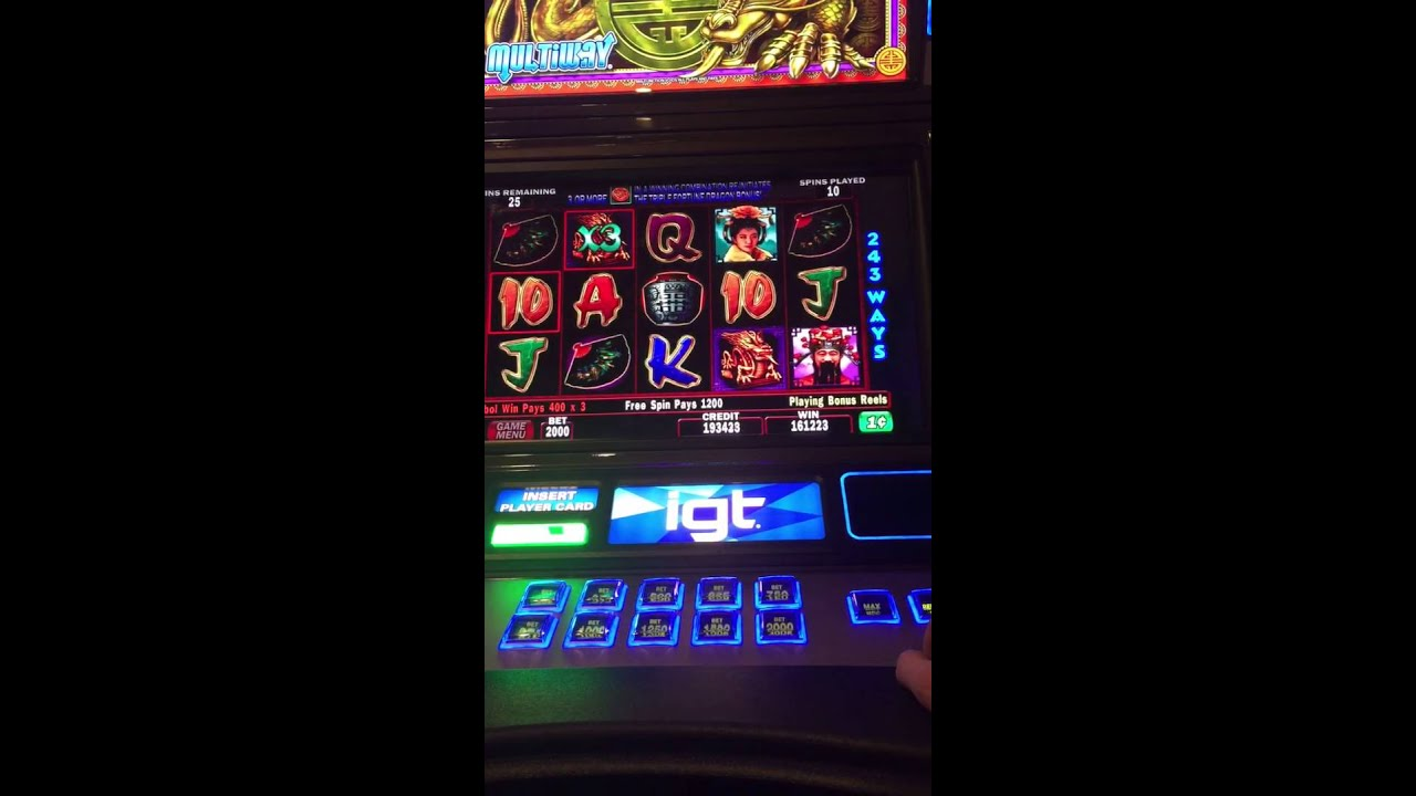 Triple Fortune Dragon Jackpot