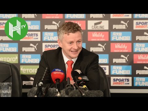 Newcastle 0-2 Man United | Ole Solskjaer: Marcus Rashford must have been watching Cristiano Ronaldo!