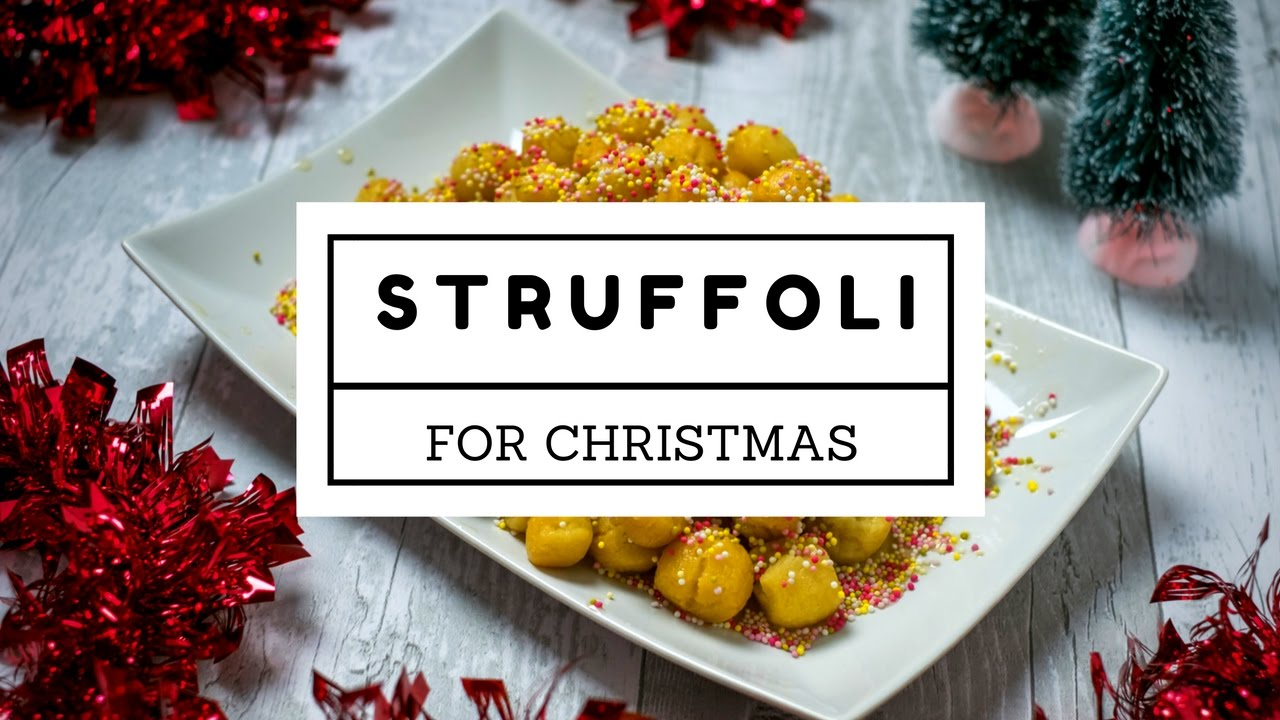 Italian Struffoli Recipe - Easy and Funny for Christmas - YouTube