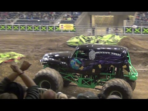 Identity Theft Freestyle Sat Monster X Tour Redmond Or 2014 Youtube