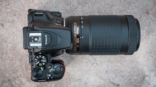 Nikon AF-P DX 70-300mm F4.5-6.3G ED VR - Review Part 2 ft. Nikon D5500 / D5600