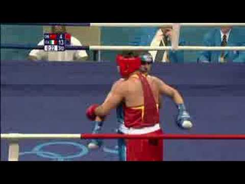 China vs Italy - Boxing - Super Heavyweight +91KG - Beijing 2008 Summer Olympic Games