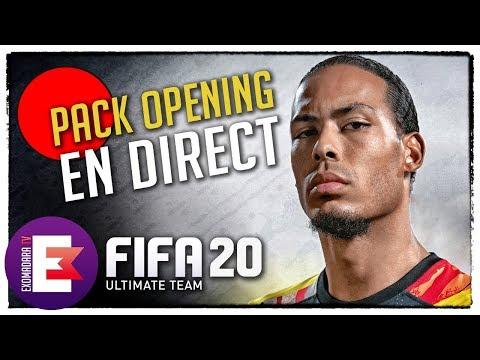 🔴 FIFA 20 PACK OPENING ET CRÉATION D'ÉQUIPE !
