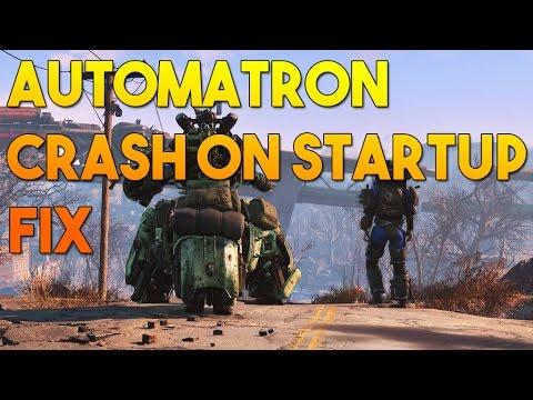 Fallout 4 - crash on startup automatron dlc fix