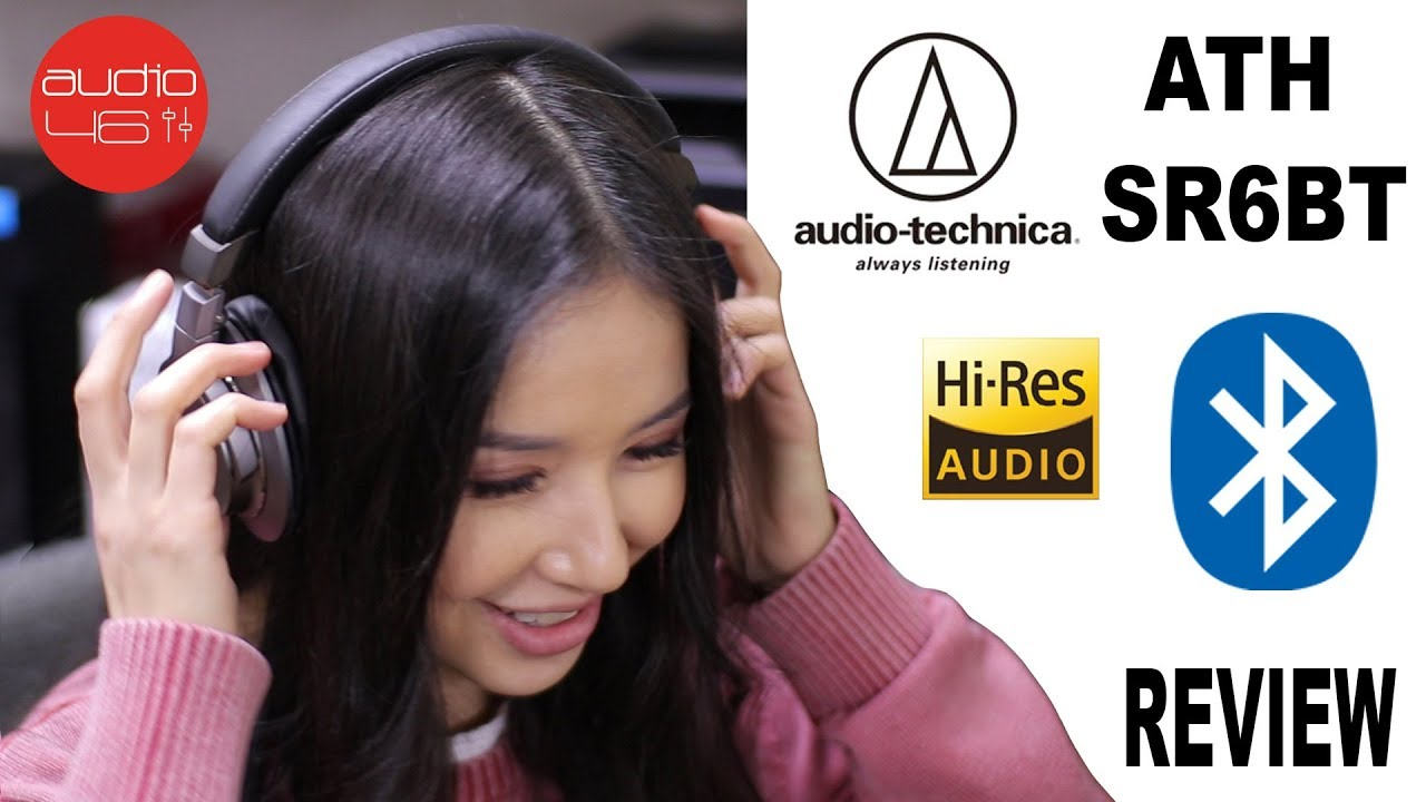 Audio Technica Ath Sr6bt Bluetooth Headphones Review