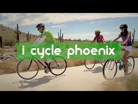I Cycle Phoenix - 20 Year Bike Master Plan from the Street Transportation Department
