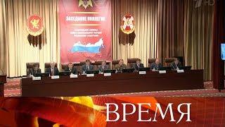 Глава Росгвардии Виктор Золотов рассказал о стоящих перед ведомством новых задачах.
