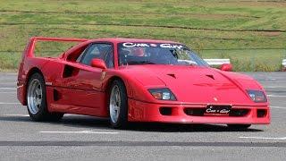 自動車冒険家がフェラーリF50でドライビングテクニック披露!「スーパーカーバラエティー自動車冒険隊」公開収録 会見 #Takashi Yoshimura #Heisei Nobushi Kobushi