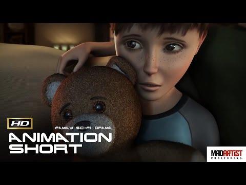 "Award Winning CGI 3D Animated Short Film ""WORLD'S APART"" Short Sci-Fi Animation by Michael Zachary"