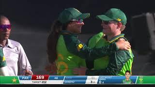 Momentum Proteas vs Pakistan Women | Third ODI Highlights | Hollywoodbets Kingsmead Stadium, Durban