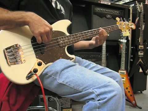 Fender Mustang Bass - YouTube  Fender Mustang ...