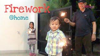 Zara Kenzo Main Kembang Api   Aku Cinta Kakek Nenek   Firework