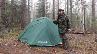 Палатка Greenell Elf 3.Обзор.