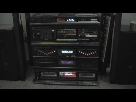 Fisher CA 885 Home Stereo System form 1986! All working!