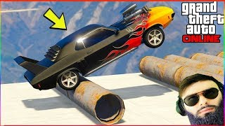 Gambar cover 🔴  GTA ONLINE Casino : ახალი მანქანის ტუნინგი😱 ავალთ ჩილიადზე?  (Dodge Challenger)