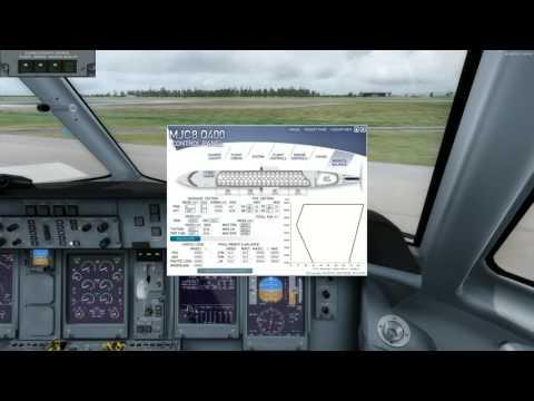 Q400 Majestic Prepar3D Shared Cockpit from Brisbane to Canberra