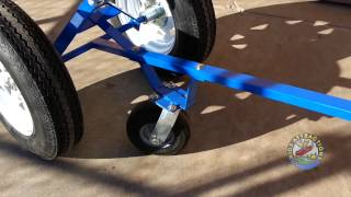Heavy Duty Boat Trailer Dolly for Sale, How to Move a Boat Trailer