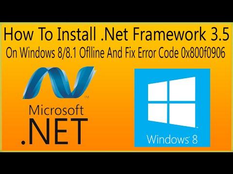 microsoft .net framework download for windows 8