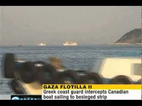 Greece stops Gaza-bound Canadian boat