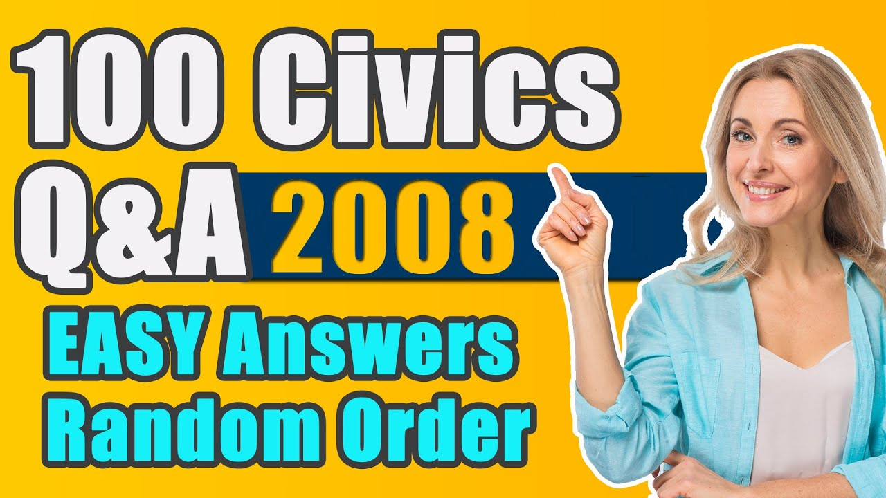 Official USCIS 100 civics questions with one answer each 2020 | USCitizenshipTest.org