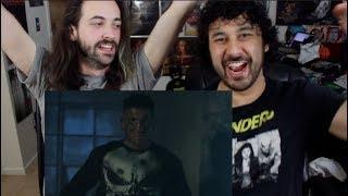 Marvel's THE PUNSIHER | Netflix | Official TRAILER 2 REACTION & REVIEW!!!