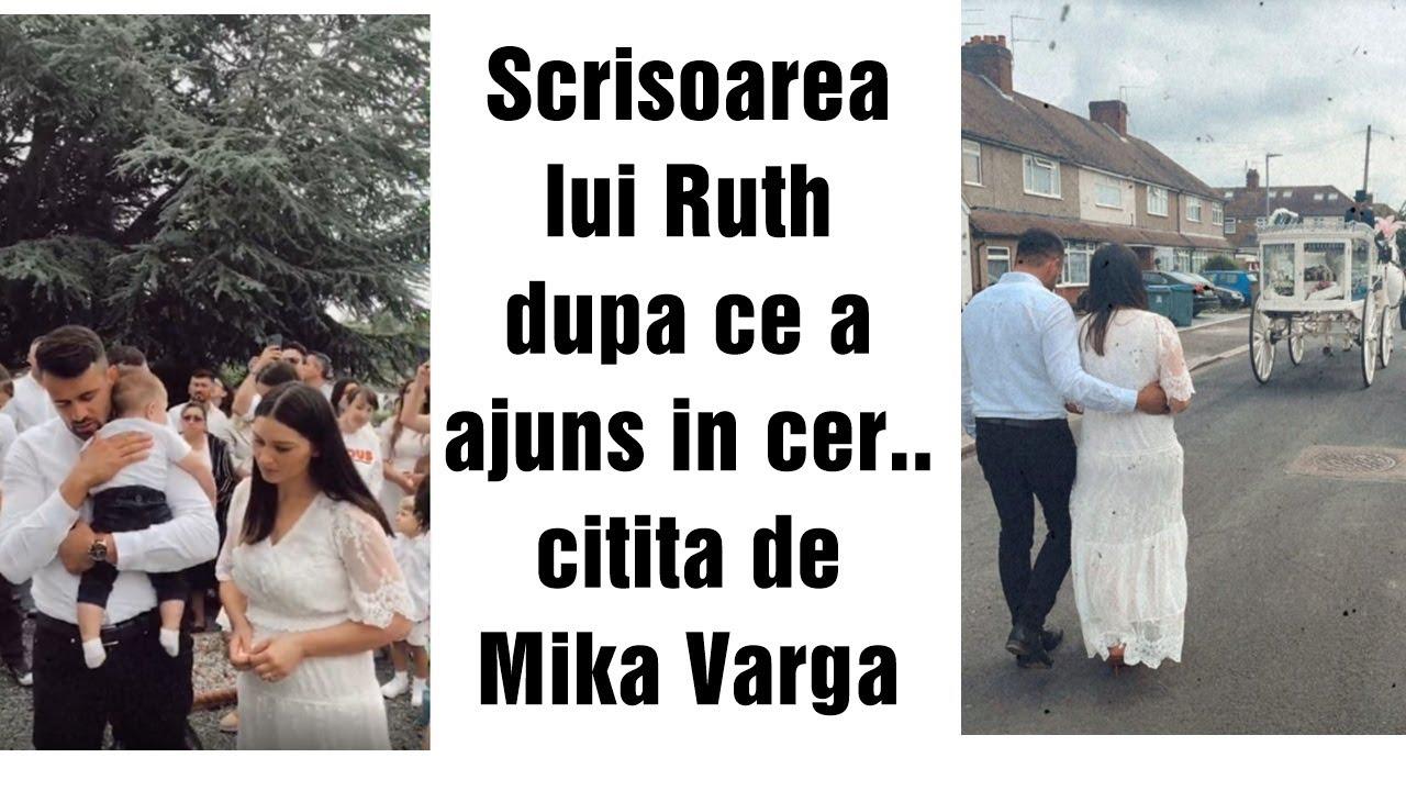 Download Scrisoarea lui Ruth Varga dupa ce a ajuns in cer, citita de Mika Varga (inmormantare Ruth)