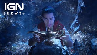 Disney's Aladdin Remake: First Look at Will Smith as Genie - IGN News