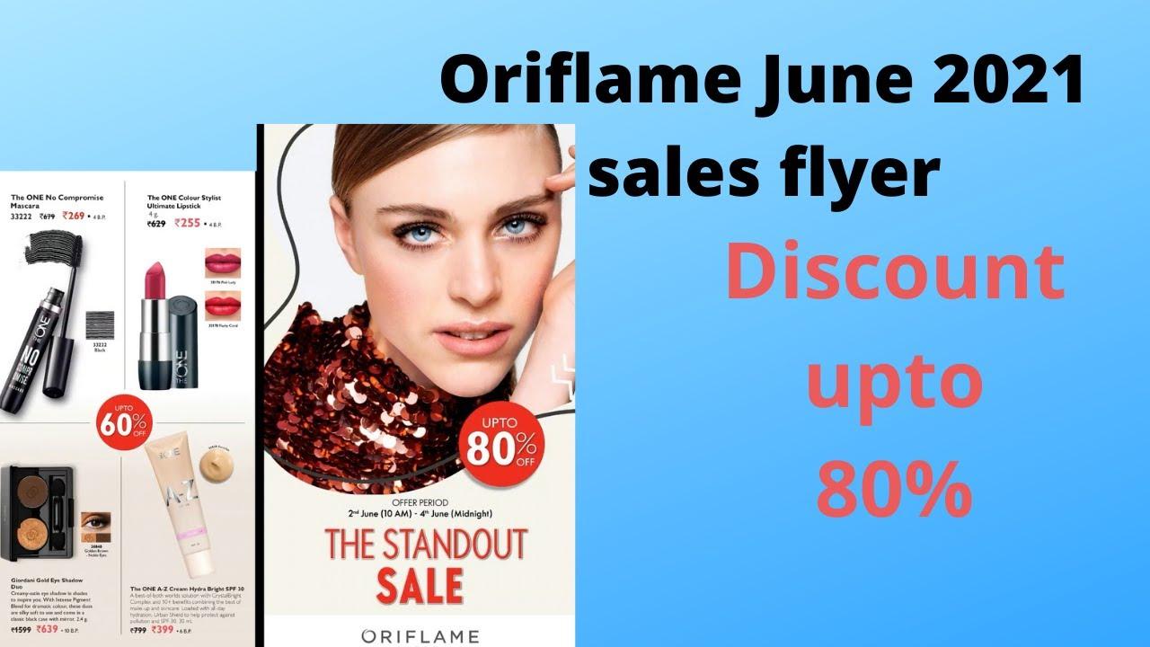 Oriflame June 2021 sales flyer 2 june-4 june 2021 | flyerJuner2021 by Oriflame 1sr flyer