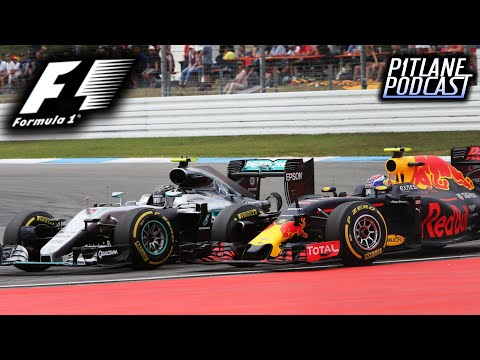 F1 2016 German GP Race Discussion: THE ROSBERG ISSUE - Pitlane Podcast #23
