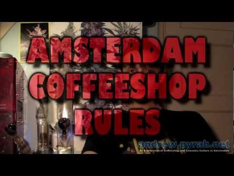Amsterdam Coffeeshop Rules