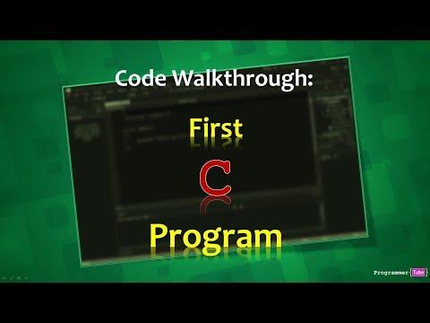 Understanding Hello World Program in C