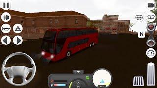 Coach Bus Simulator Double Decker Bus