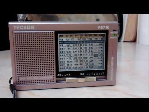 9670kHz 2048UTC - Vatican Radio French Service to Africa