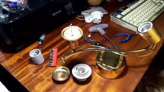Ремонт люстры, учимся менять патрон.(В данном видео я показал как возможно при помощи нехитрых инструментов починить люстру, а именно заменить..., 2013-12-23T17:55:23.000Z)