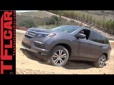 2016 Honda Pilot Off Road Tech Review How To Use New Awd Get Unstuck