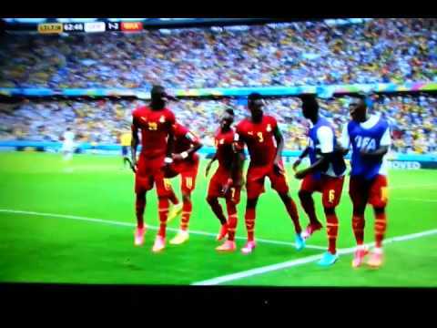 Gyan and Ghana dance celebration Germany 1-2 Ghana