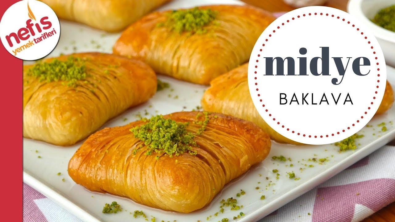 Midye Baklava