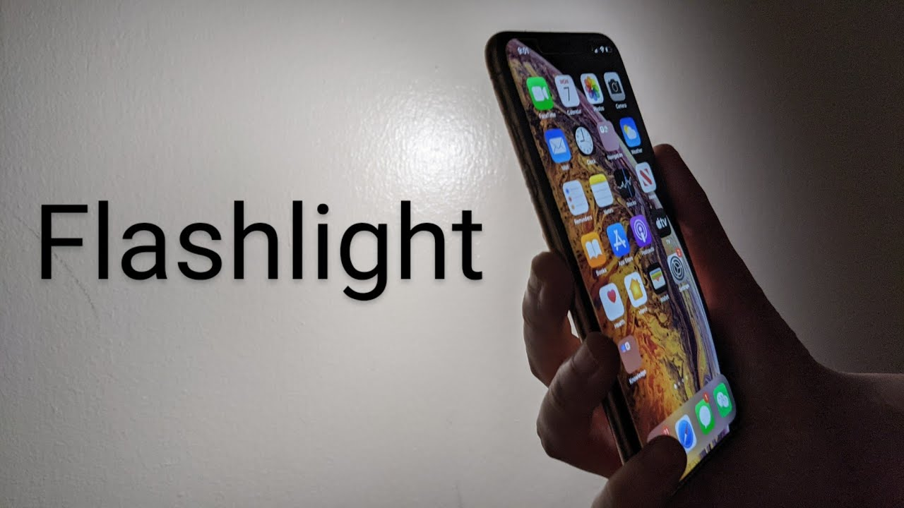 How To Turn Off Flashlight On Iphone >> Flashlight Iphone Xs Xr Change Brightness Turn On Off