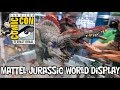 Mattel Jurassic World Toy Reveals at San Diego Comic Con 2018