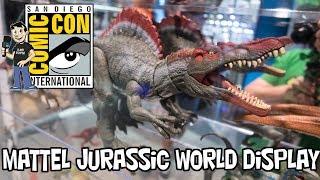 Mattel Jurassic World Toy Reveals at San Diego Comic Con 2018